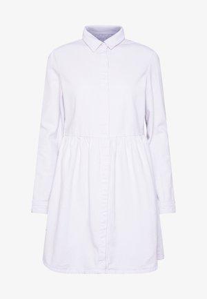 DRESS - Denim dress - white