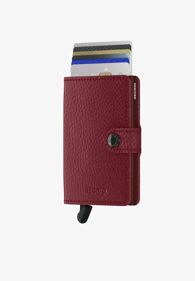Wallet - rosso bordeaux