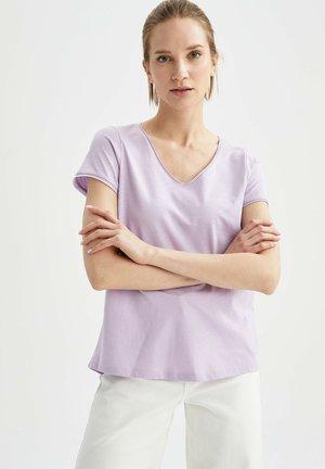T-shirt basique - purple
