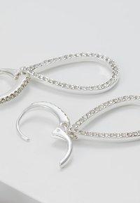 Pilgrim - EARRINGS DELIA - Earrings - silver-coloured - 2