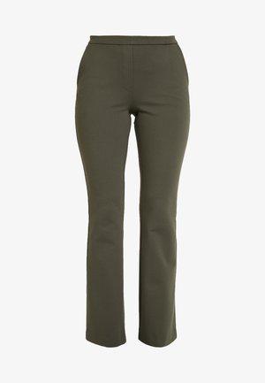TANNY FLARE PANTS - Bukser - dark khaki