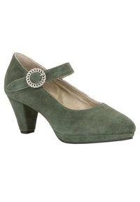Stockerpoint - Classic heels - dunkelgrün - 3