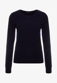 Repeat - CREW NECK CASHMERE - Sweter - navy - 3