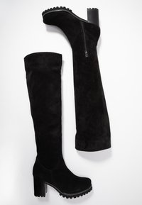 Weekend by Pedro Miralles - Botas mosqueteras - nero - 3