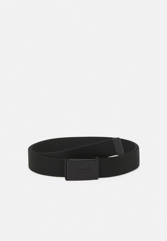 TONAL BATWING WEB BELT - Pásek - regular black