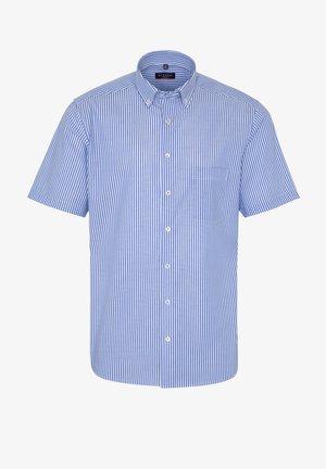 MODERN FIT - Shirt - blau/weiß