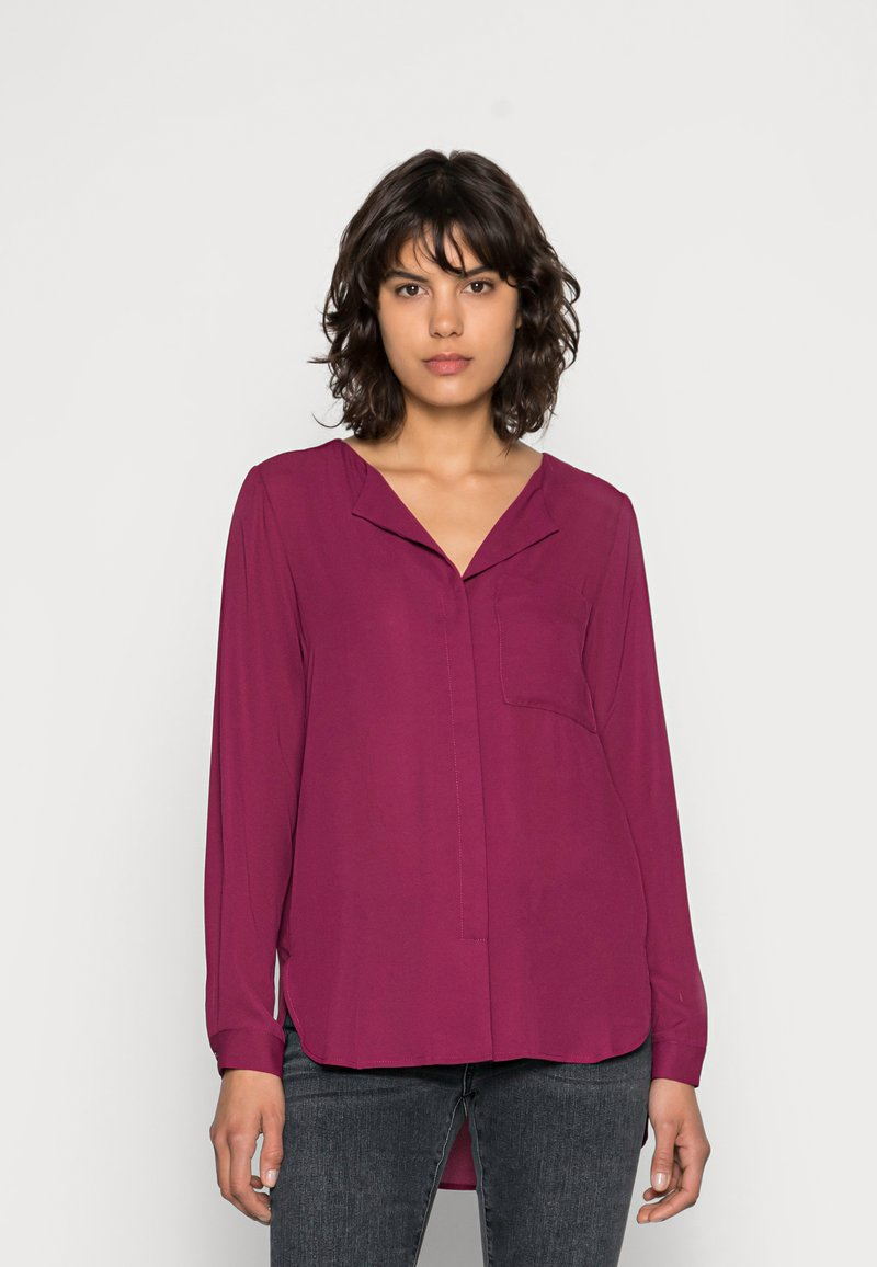 Selected Femme - SFDYNELLA - Blouse - beet red