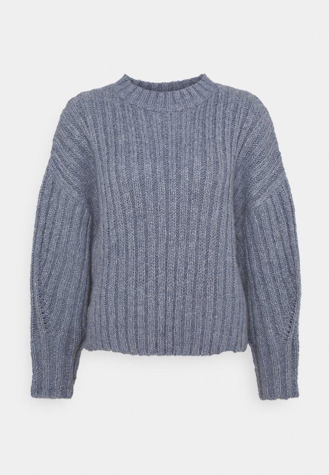 TESS JUMPER - Sweter - blau