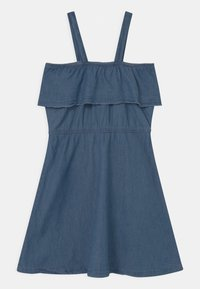 Lemon Beret - TEEN GIRLS - Vestito di maglina - denim blue - 1