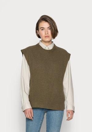 EVELYN - Basic T-shirt - khaki