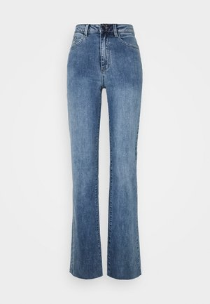 OBJWIN - Džíny Straight Fit - medium blue denim