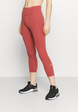 ONE CROP 2.0 - Tights - canyon rust/white