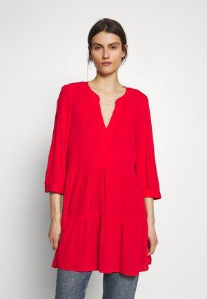 Tunic - luminous red