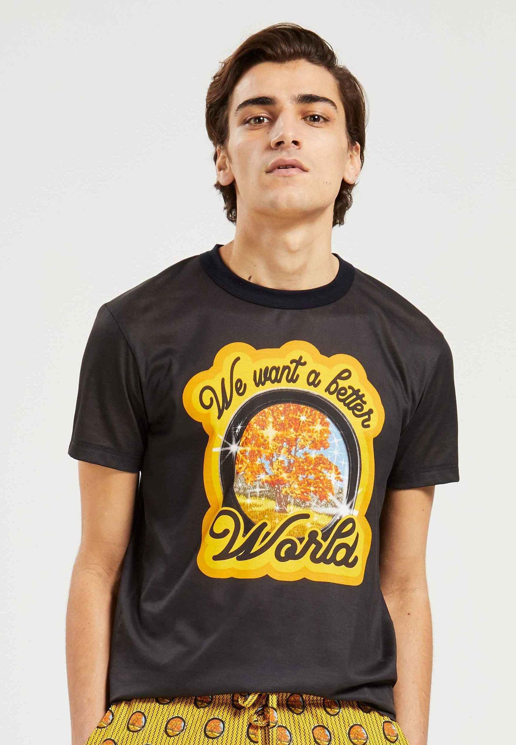 Herren COMPOSTABLE - Nachtwäsche Shirt