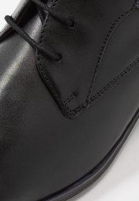 Bugatti - MORINO - Stringate eleganti - black - 5