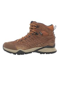 The North Face - M HEDGEHOG HIKE II MID WP - Lace-up ankle boots - timber tan/india ink - 0