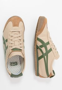 Onitsuka Tiger - MEXICO 66 - Sneakers basse - beige/grass green - 1