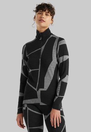 Long sleeved top - black/j