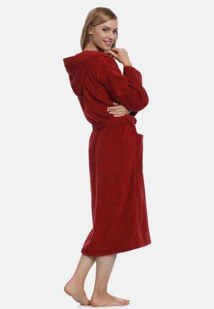 Dressing gown - burgundy