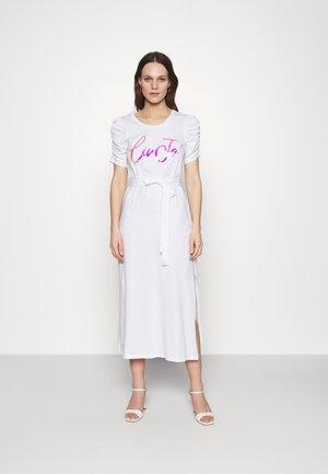 ABITO UNITA - Jersey dress - bianco ottico
