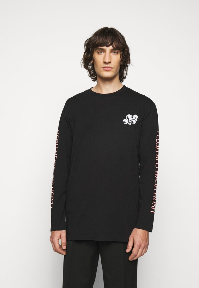 FLUSH KISS HUSH LONG TEE - Longsleeve - black