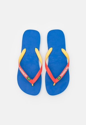 BRASIL MIX UNISEX - T-bar sandals - blue star/white/blue