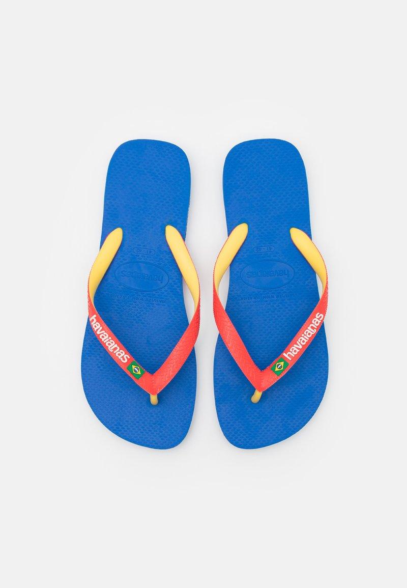Havaianas - BRASIL MIX UNISEX - T-bar sandals - blue star/white/blue