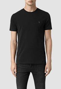 AllSaints - BRACE - Basic T-shirt - jet black - 0