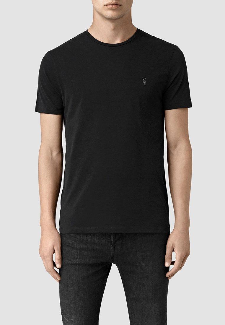 AllSaints - BRACE - Basic T-shirt - jet black