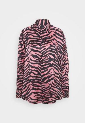 Košile - pink/black
