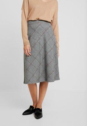 ASTA SKIRT - A-line skirt - pitch black