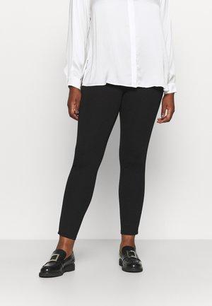 LOGSIDE PANEL LEGGING - Leggings - Trousers - black
