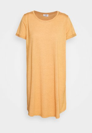 TINA DRESS - Žerzejové šaty - spruce yellow marle