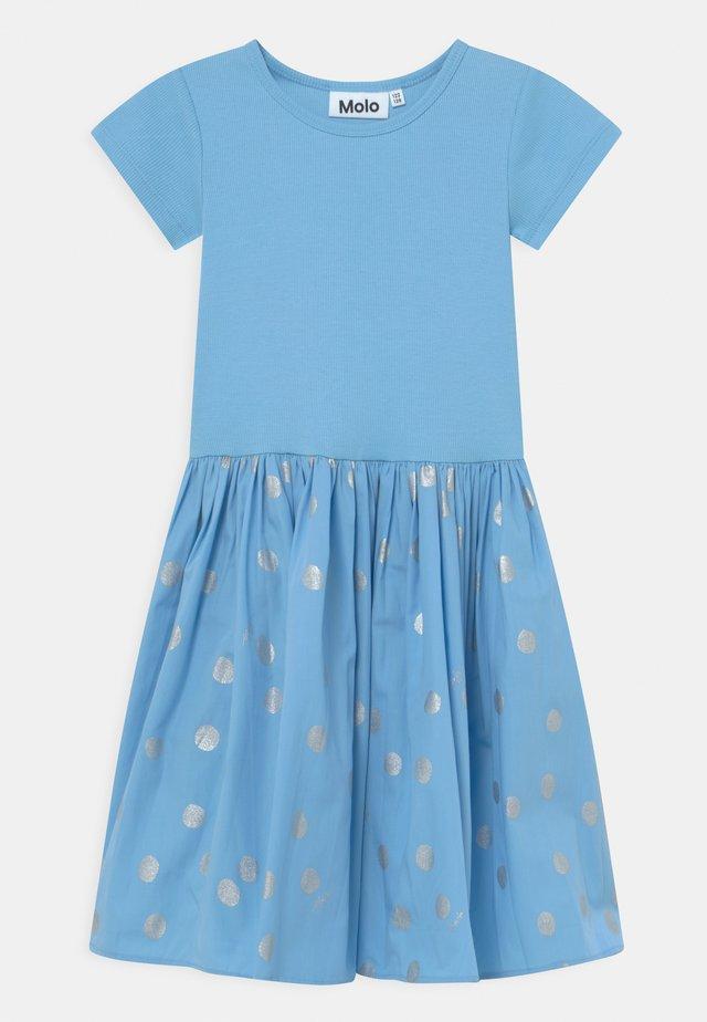 CISSA - Jersey dress - light blue