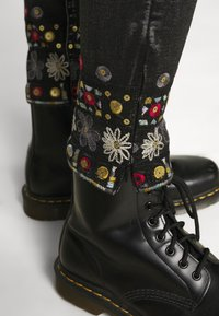 Desigual - LESLIE - Jeans Skinny Fit - denim black wah - 3