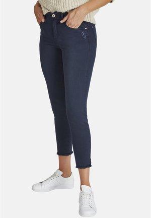 ORNELLA GLAMOUR - Slim fit jeans - dunkelblau