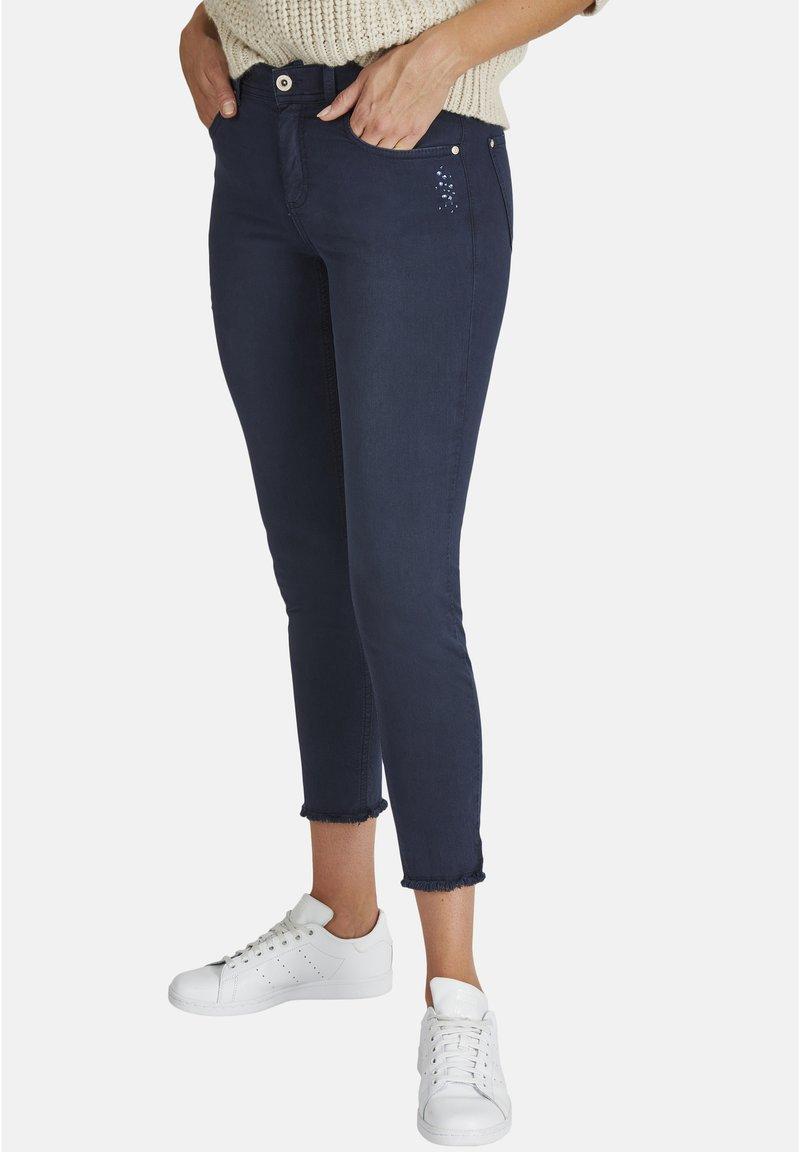 Angels - ORNELLA GLAMOUR - Slim fit jeans - dunkelblau