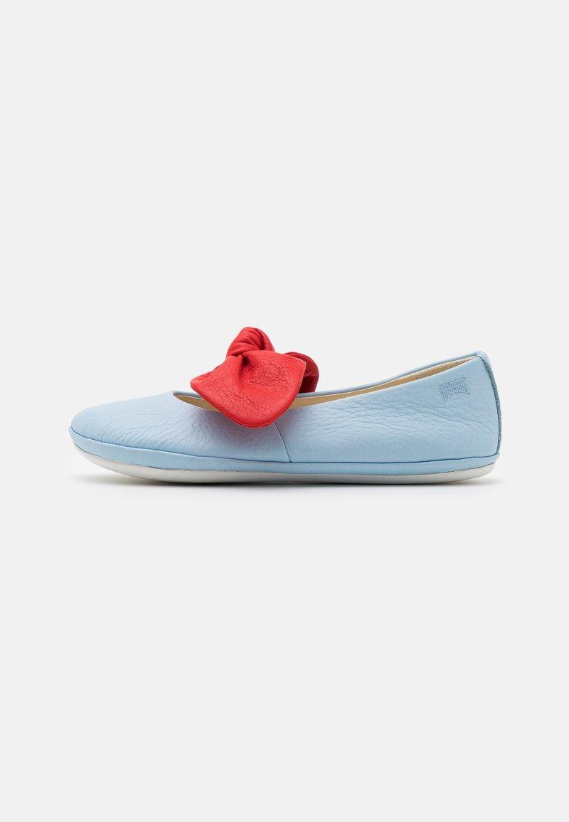 Camper - RIGHT - Ankle strap ballet pumps - light/pastel blue