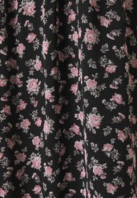 Vero Moda - VMFILIA TIE CALF DRESS - Day dress - black/rose - 7