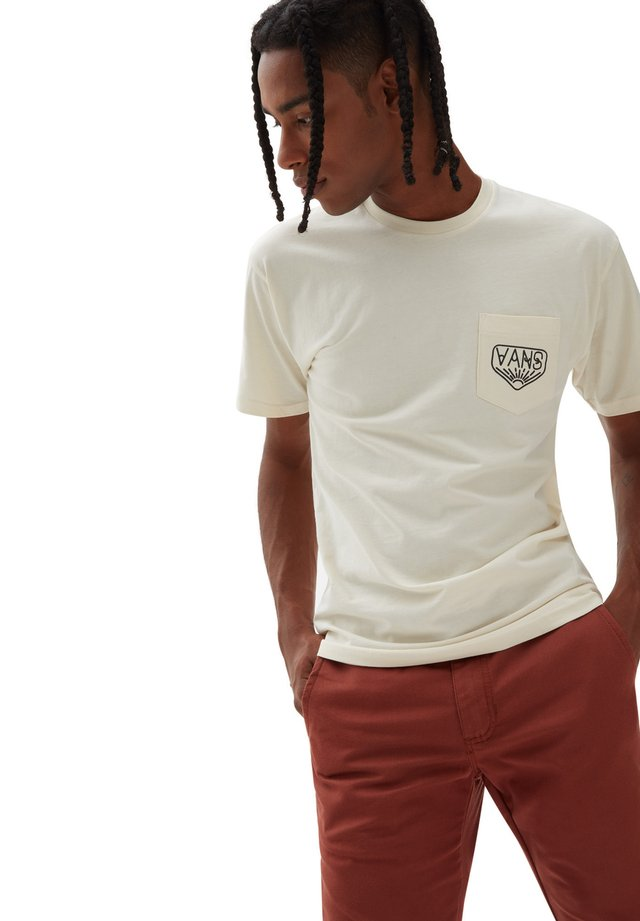 MN DAKOTA ROCHE LOGO SS - Print T-shirt - seedpearl