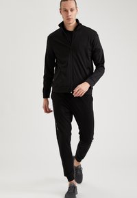 DeFacto Fit - Felpa aperta - black - 1