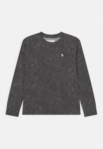 Maglietta a manica lunga - black scrunch