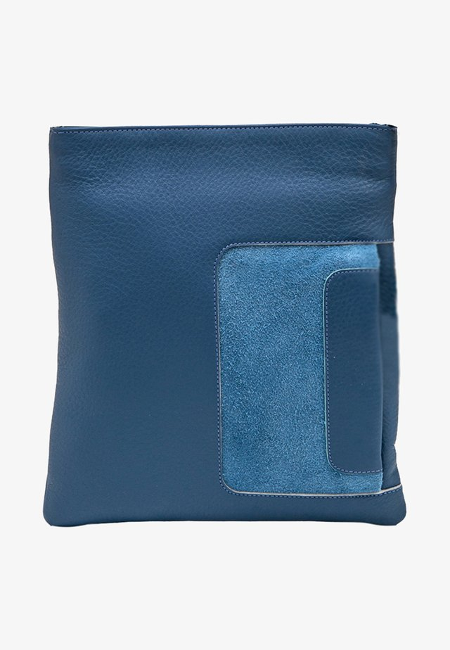 Across body bag - blue