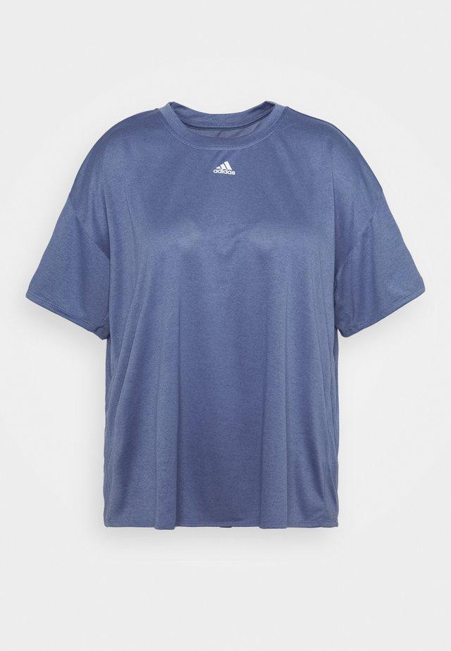 TEE - T-shirt imprimé - orbit violet