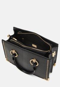 ALDO - NYDIVIEL - Handbag - black/light gold-coloured - 2