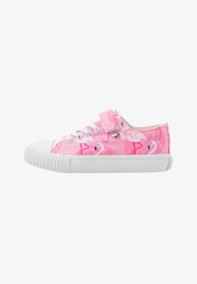 MASTER LO - Sneakers laag - pink flamingo