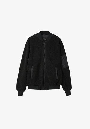 Bomber Jacket - mottled black