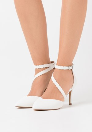 CINDERS - Zapatos altos - white