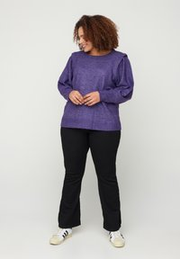 Zizzi - Jumper - purple - 1