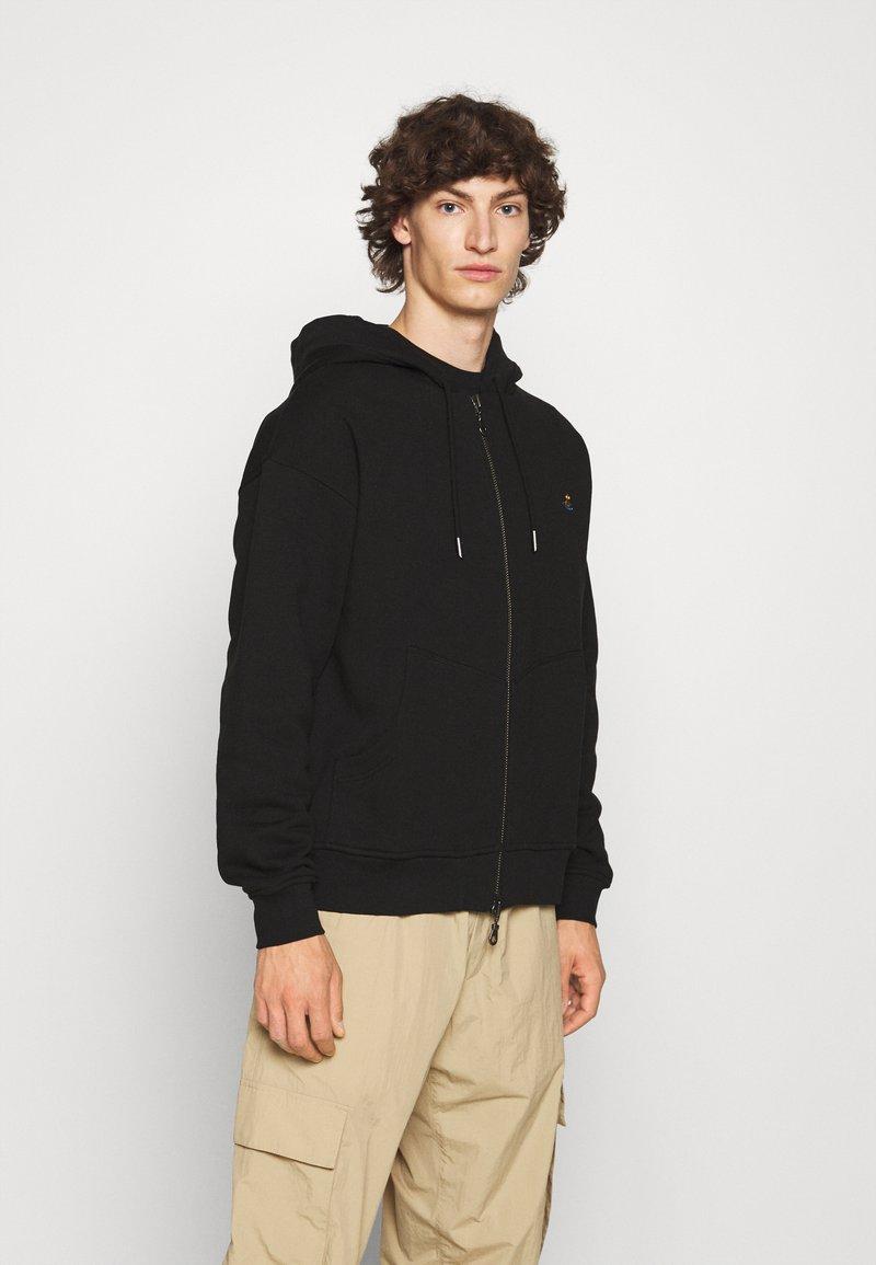 Vivienne Westwood - RUGGED ZIP HOODIE - Zip-up sweatshirt - black